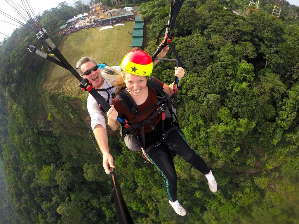 Paragliding in Ghana