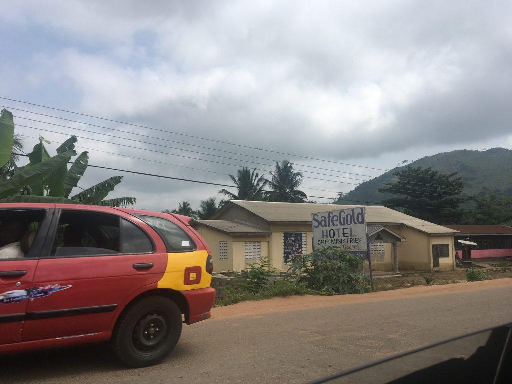 Georganiseerde tour in Ghana