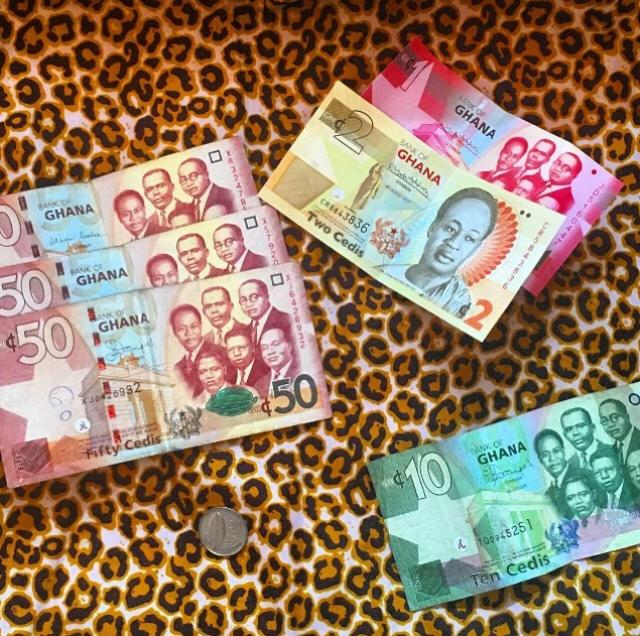 Geld in Ghana