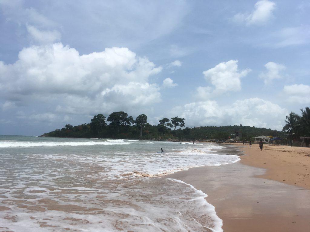Busua Beach Ghana strand