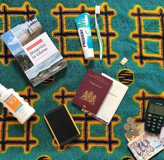 Voorbereidingen reis naar Ghana