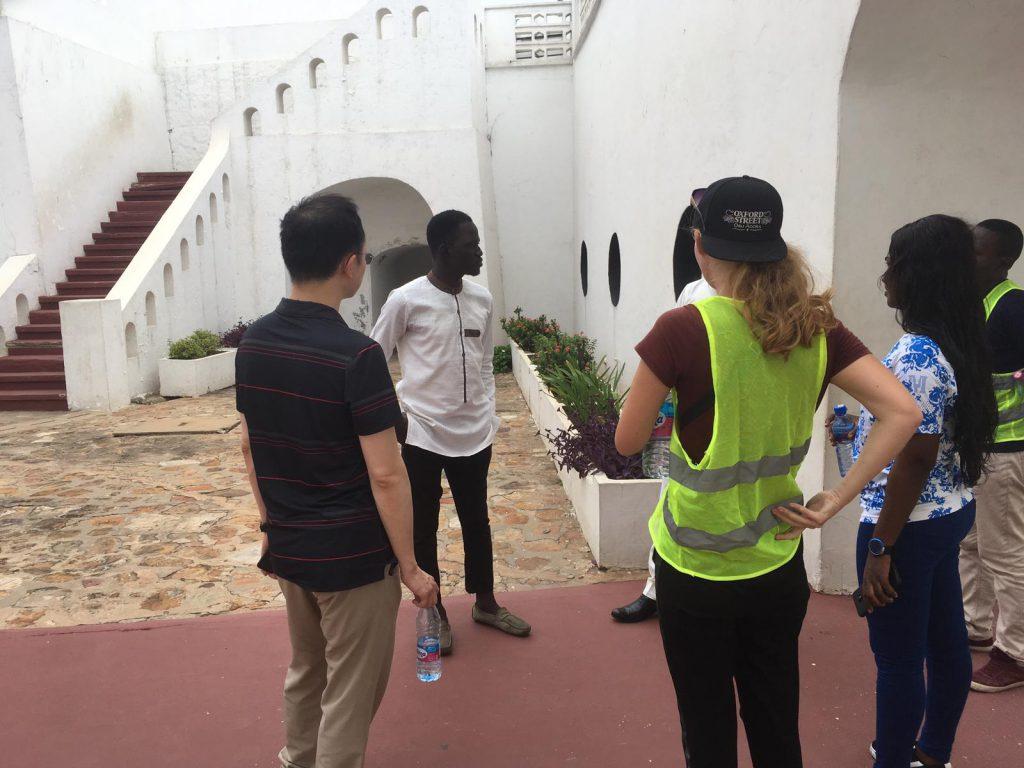 Osu Castle Accra Ghana