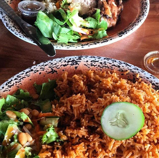 Vegetarisch eten in Ghana