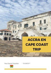 Gratis reisroute Accra Cape Coast Ghana