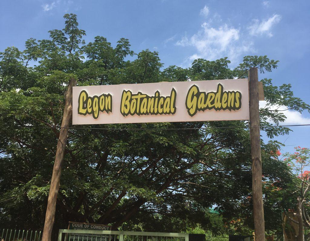 Entrance Legon Botanical Gardens Accra Ghana