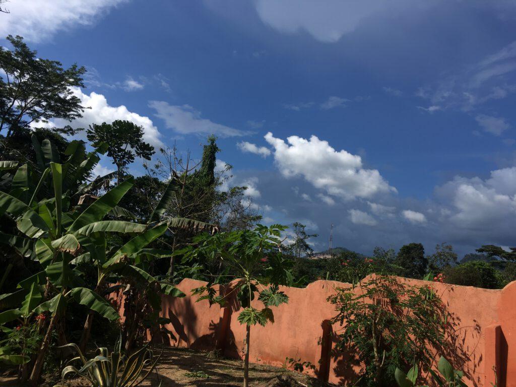 Moon and Star guesthouse regentijd Ghana
